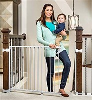 """REGALO TOP OF STAIR SAFETY GATE 28""""X43.5"""" 30.5""""H"""