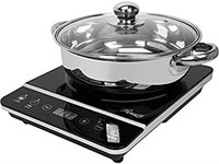 ROSEWILL INDUCTION COOKTOP WITH STAINLESS