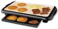 "OSTER DURACERAMIC 10"" X 18"" ELECTRIC GRIDDLE"