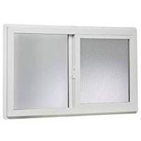 "PARK RIDGE VINYL BASMENT SLIDER WINDOW 32"" X 20"""