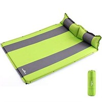 DOUBLE SELF-INFLATING SLEEPING PAD CAMPING