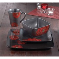 AMERICAN ATELIER ASIANA RED 16 PIECE