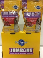 PEDIGREE 2-PACK JUMBONE DOG FOOD, 1.39KG/PACK