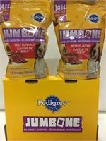PEDIGREE 2-PACK JUMBONE DOG FOOD, 1.39KG/PACK