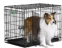 """MIDWEST DOG CRATE, 30""""X19""""X91"""""""