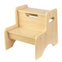 "KIDCRAFT 2 STEP STOOL 15"" X 15"" X 14"""