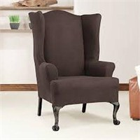 """SUREFIT WING CHAIR SLIPCOVER 45""""x32"""""""