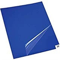 """PLASTIC COVER STICKY MATS 18"""" x 36"""""""