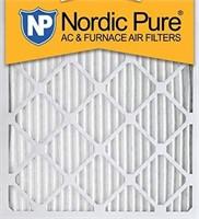"NORDIC PURE 2PCS AIR FILTERS 12"" x 18"" x 1"""