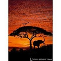 NATIONAL GEOGRAPHIC AFRICAN SUNSET WALL PAPER