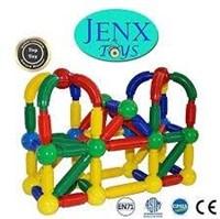 JENXTOYS 60 PIECE MAGNETIC DISCOVERY