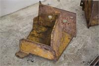 WEIGHT BRACKETS FOR JOHN DEERE 260 SKID STEER   SPENCER SALES
