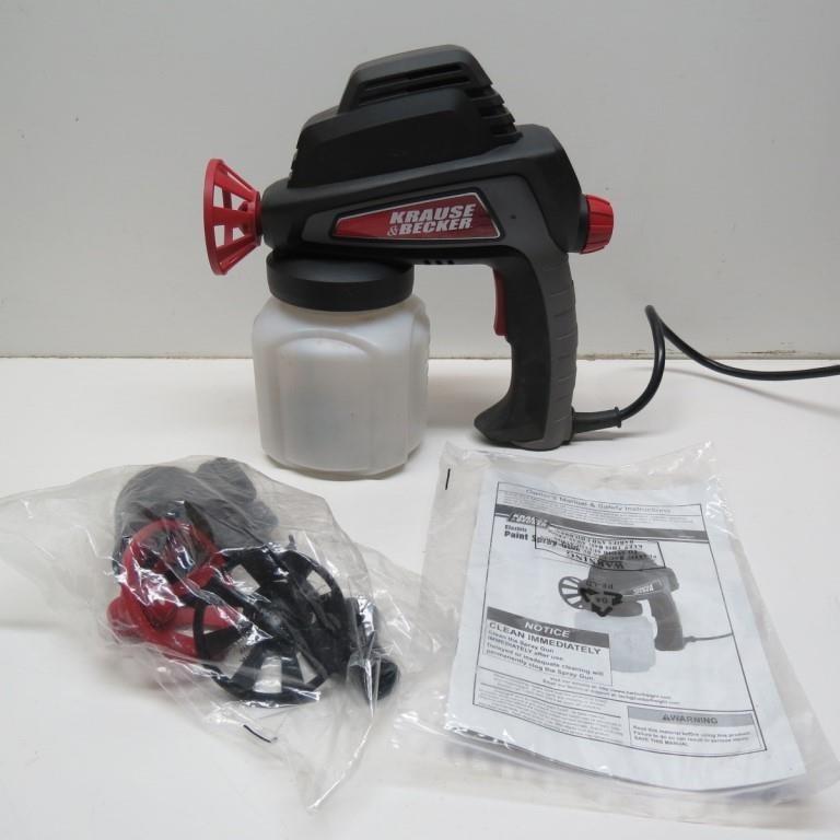 Krause Becker Electric Paint Spray Gun Manual Idaho