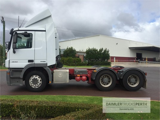 2012 Mercedes Benz Actros 2644 Daimler Trucks Perth - Trucks for Sale