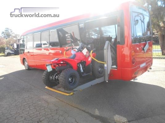 2005 Mitsubishi Rosa BE649 Wheelchair Bill Slatterys Truck & Bus Sales - Buses for Sale