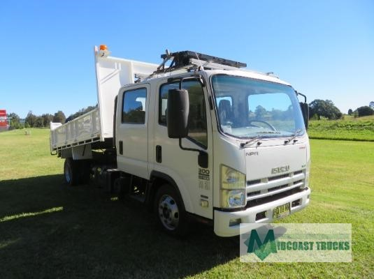 2012 Isuzu NPR 300 Dual Cab Midcoast Trucks - Trucks for Sale
