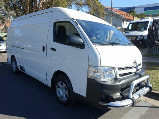 2012 Toyota Hiace Kdh221r My12 Upgrade Slwb Light Commercial for Sale