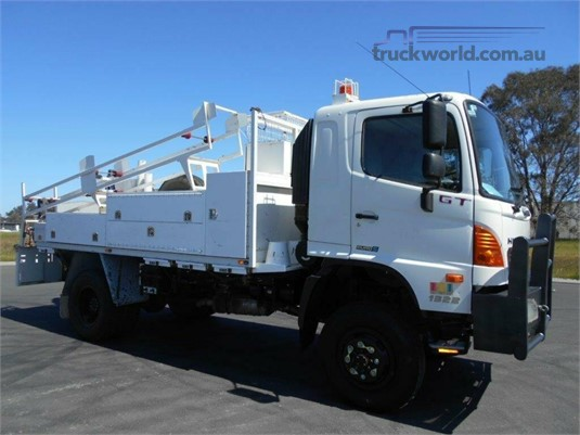 2012 Hino 500 Series 1322 GT 4x4 Trucks for Sale