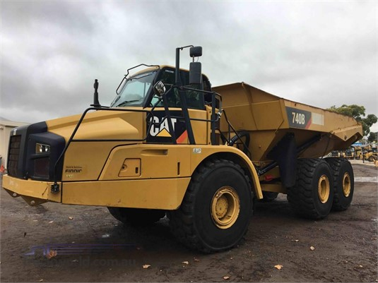 2012 Caterpillar 740B Heavy Machinery for Sale