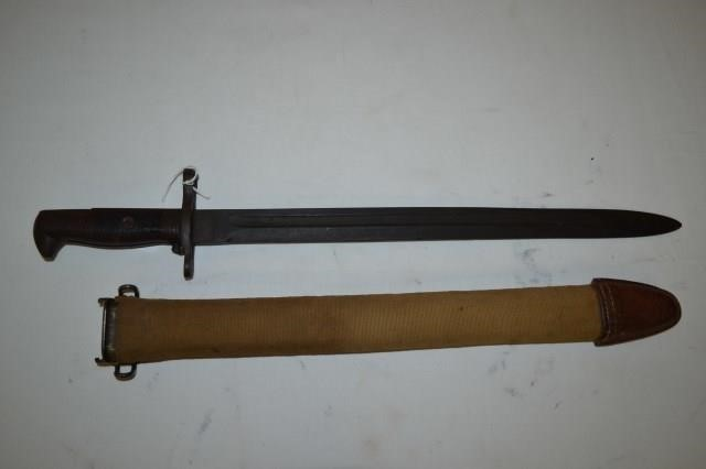 WWII 1942 Wilde Tool Bayonet & Boyt Scabbard | Cady Auction