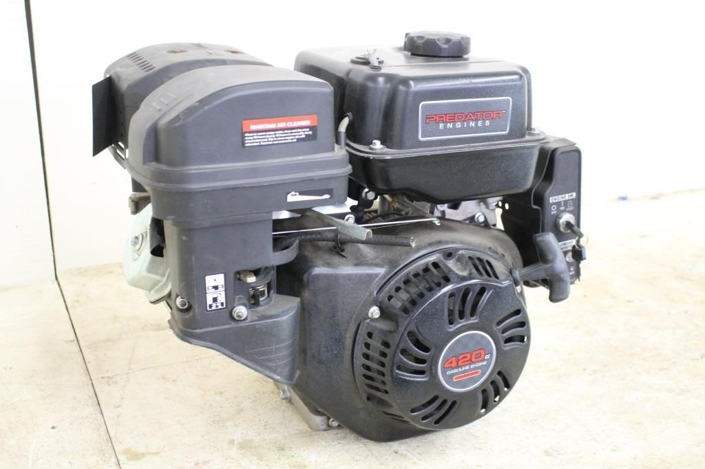 PREDATOR 420CC GAS ENGINE, WITH ELECTRIC START | SPENCER SALES