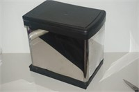 STAINLESS STEEL PULL-OUT WASTE BIN