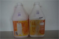 LOT OF 2 WALL AND FLOOR DEGREASER