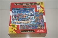 CHURCHILL POLAR BEARS ATLANTIS 2-PK 500 PIECES