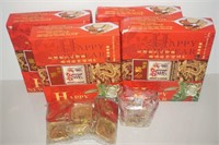 LOT OF CHINESE ASSORTED NEW YEAR COOKIES SET
