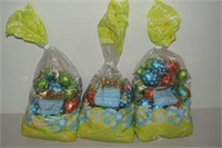 LOT OF JACQUOT MILK CHOCOLATE HOLLOW EGGS