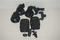 LOT OF VEHICLE ACCESSORY MOUNTING DEVICES
