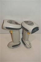 LOT OF 2 SYMBOL SCANNERS - AS SHOWN
