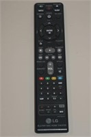 LG BLU-RAY DISC HOME THEATER REMOTE CONTROL