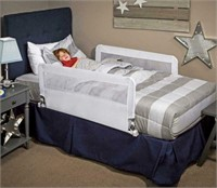 REGALO HIDEAWAY DOUBLE SIDED BED RAIL GUARD