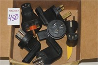 LOT OF PLUG ADAPTERS