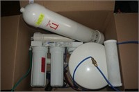 WATTS PREMIER R05-WATTS WATER FILTER SYSTEM - USED