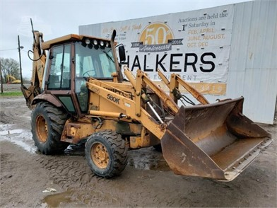 CASE 580K 4X4 LOADER BACKHOE W/EX HOE Other Items For Sale - 1