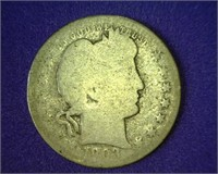 Online-Only Coin Auction