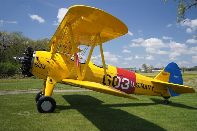 1940 BOEING/STEARMAN PT-17 KAYDET For Sale In Fitchburg, Wisconsin