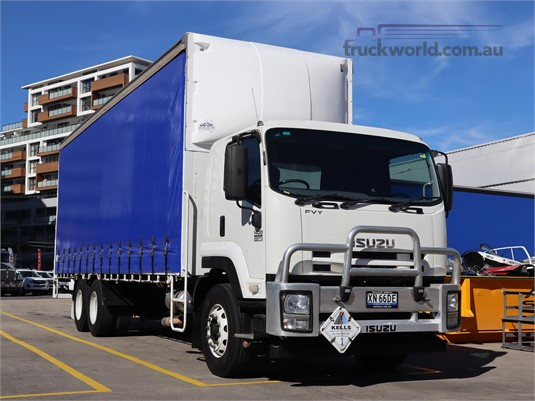 2013 Isuzu FVY Suttons Trucks - Trucks for Sale