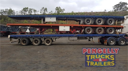 1999 Air Ride Flat Top Trailer Pengelly Truck & Trailer Sales & Service - Trailers for Sale