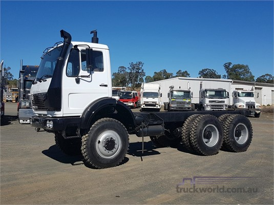 Mercedes 6X6 For Sale >> 1992 Mercedes Benz 2628 6x6 Cab Chassis