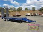 1996 Drake Low Loader Platform Pig Trailers