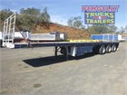 1997 Freighter Flat Top Trailer R/T Lead/Mid