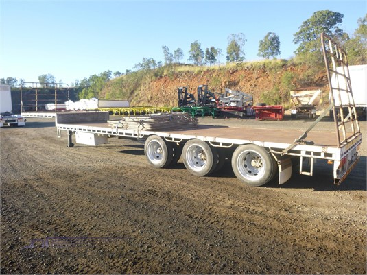 2004 Vawdrey Drop Deck Trailer Trailers for Sale