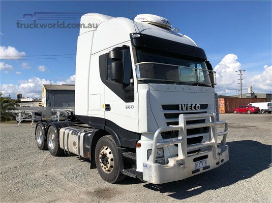 2011 Iveco Stralis All Star Equipment Sales - Trucks for Sale