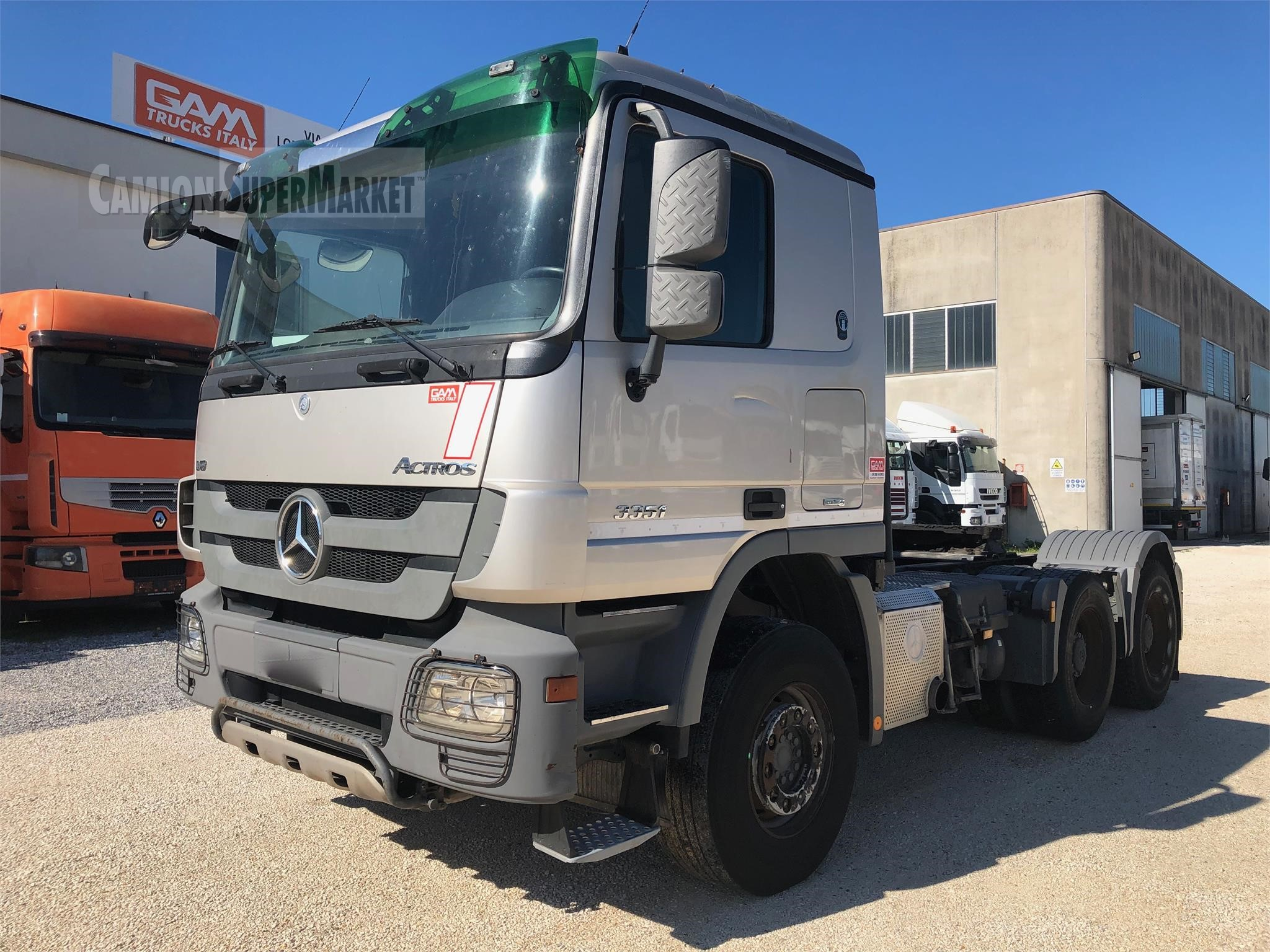 Mercedes-Benz ACTROS 3351 used 2012