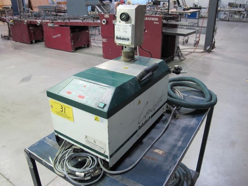 Robatech Concept 4/2 IK42 Glue Unit | HiBid Auctions