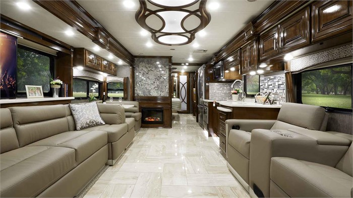 Inside The 2020 Model Year Tuscany Motorhome Lineup From