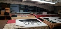 Ed's Frame Shop FINAL Massive INVENTORY Auction ONE HUGE LOT